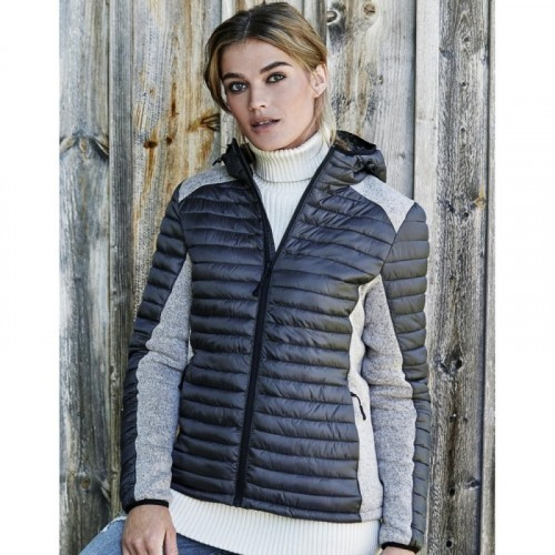Ladies Hooded Outdoor Crossover Jacket