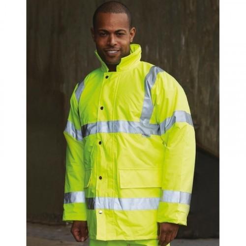 Fluo Tartan Contractor Jacket