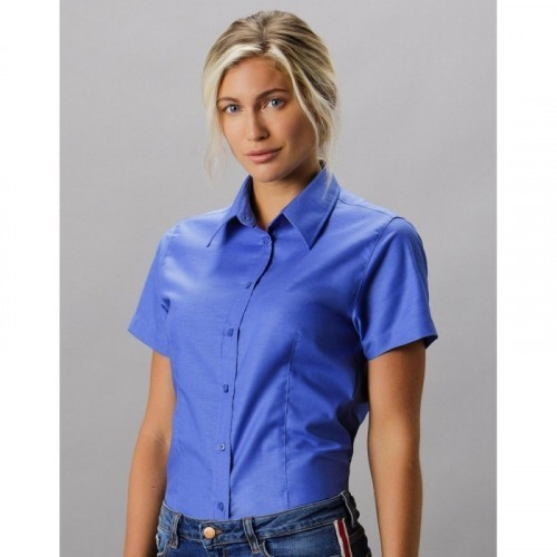 Women`s Tailored Fit Workwear Oxford Shirt SSL