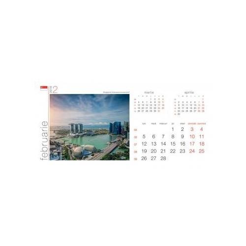 Calendar birou Orasele Lumii
