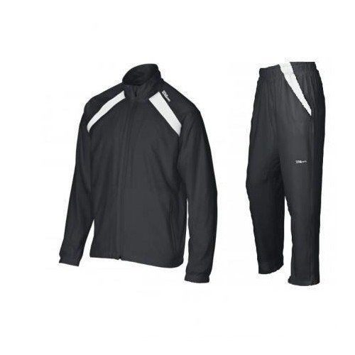 Trening Wilson Woven Warm Up, copii, Negru, XL