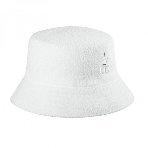 Palarie Wilson BUCKET HAT, unisex, alb, L/XL