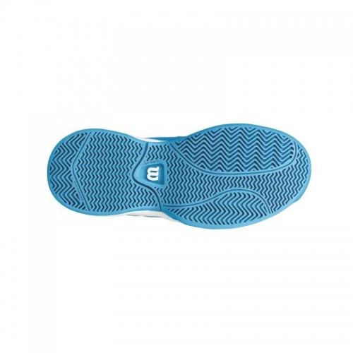 Pantofi sport Wilson Envy pentru copii, Albastru/Alb, 32⅔