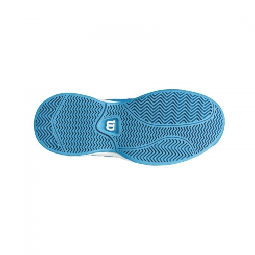 Pantofi sport Wilson Envy pentru copii, Albastru/Alb, 34⅔