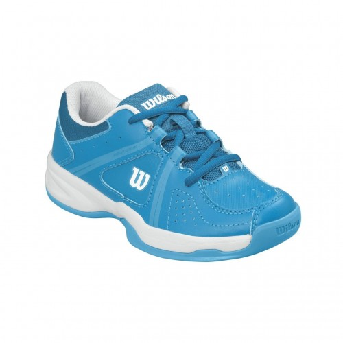 Pantofi sport Wilson Envy pentru copii, Albastru/Alb, 35⅓