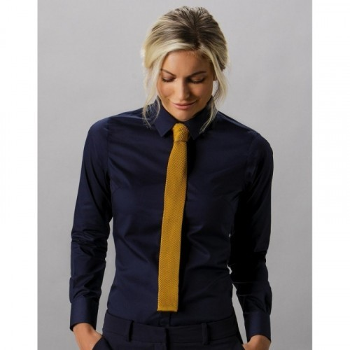 Women`s Tailored Fit Poplin Shirt