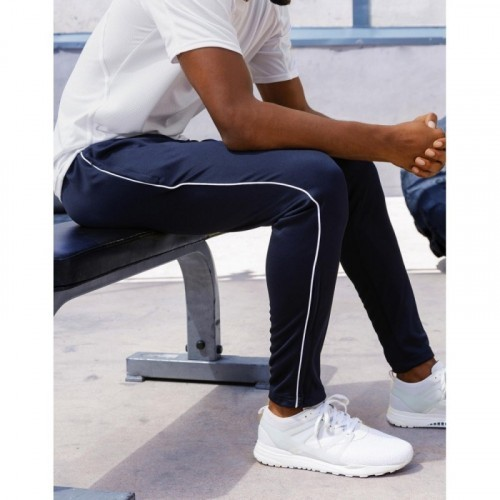 Slim Fit Piped Track Pant