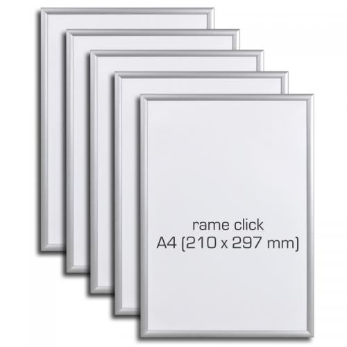 Rame click din aluminiu A4