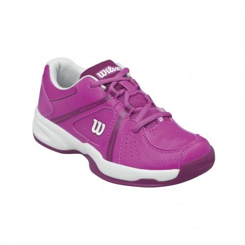 Pantofi sport Wilson Envy pentru copii, Roz/Alb, 32⅔