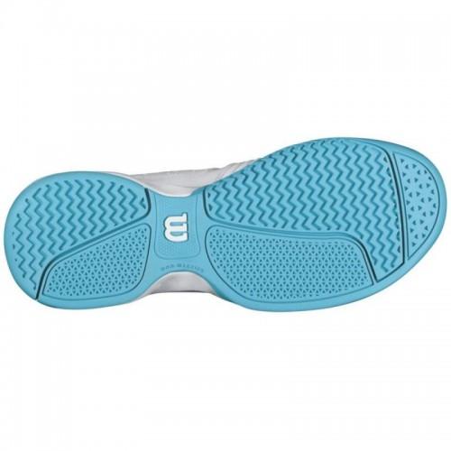 Pantofi Tenis Wilson Rush Swing Albastru Femei, 39.5