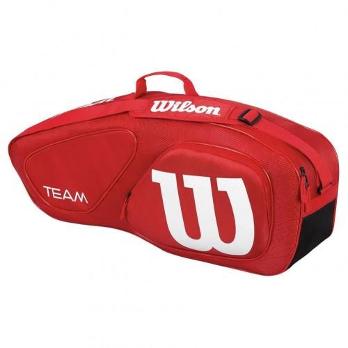 Geanta tenis WIlson TEAM II 3PK rosie