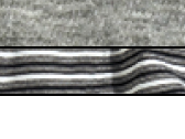 Grey Marl + Black Stripo + White